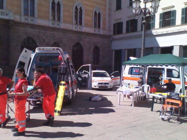 ambulanza sassari