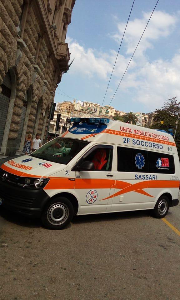 trasporto ambulanza