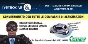 convenzioni assicurazioni cristalli auto Sassari