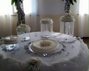 torta elegante matrimonio