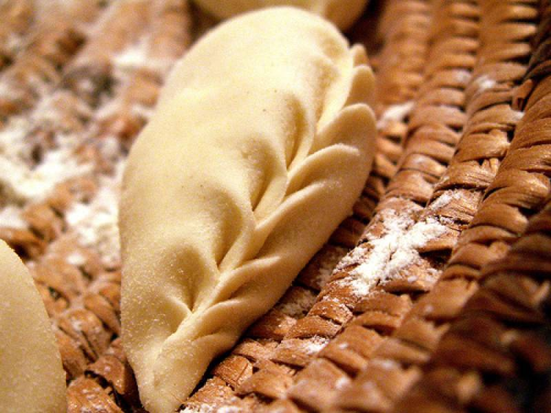 Culurgiones fatti a mano catering sassari