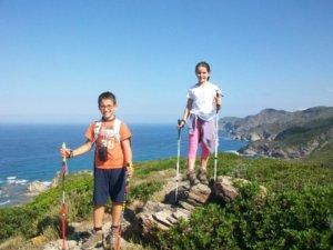 Nordic Walking bambini