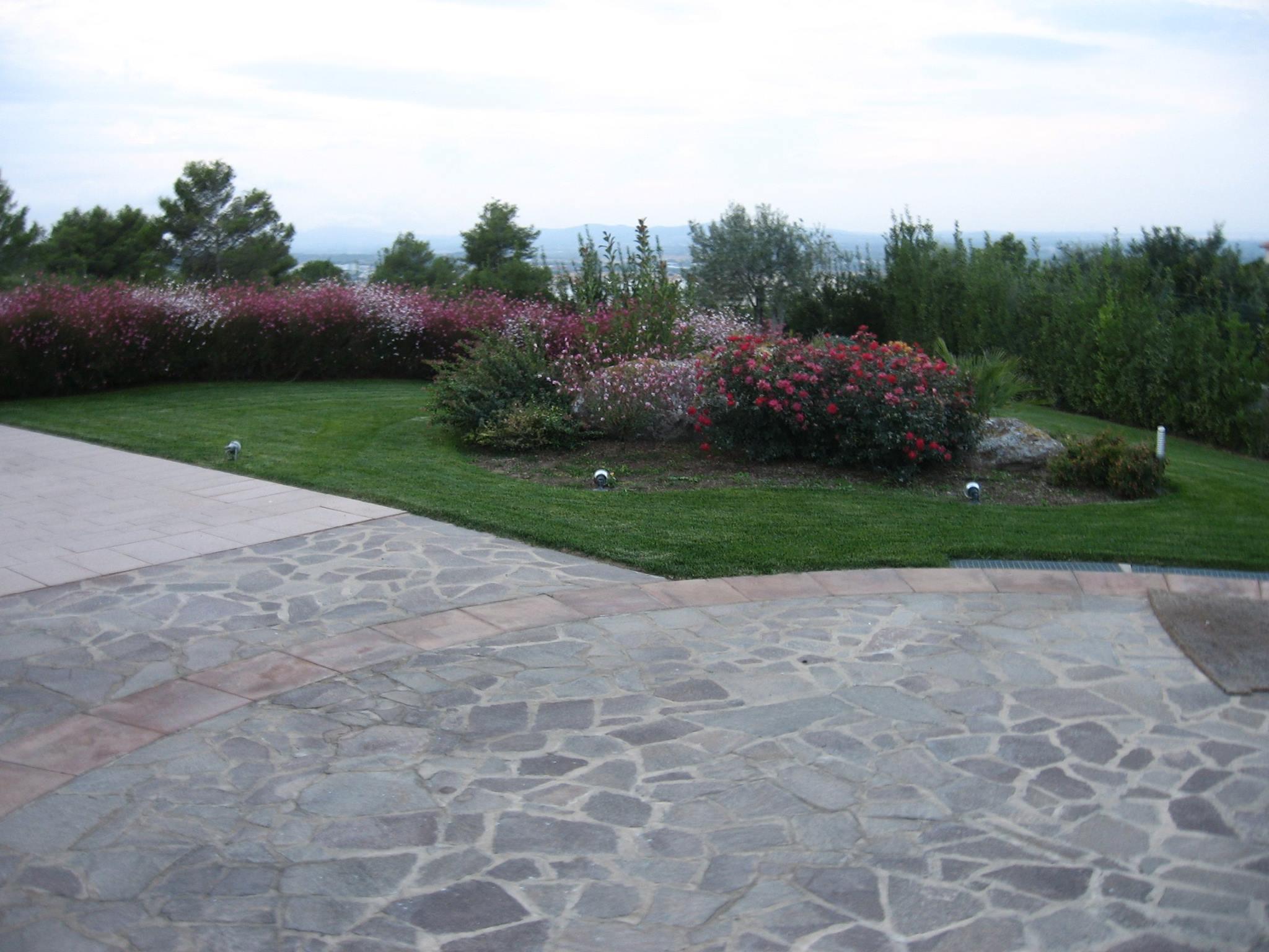 giardino finito sassari