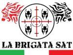 logo la brigata con bandiera italiana