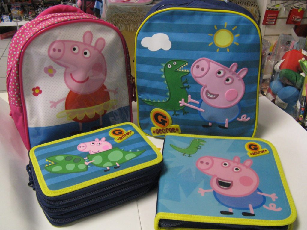 set peppa pig cartamondo