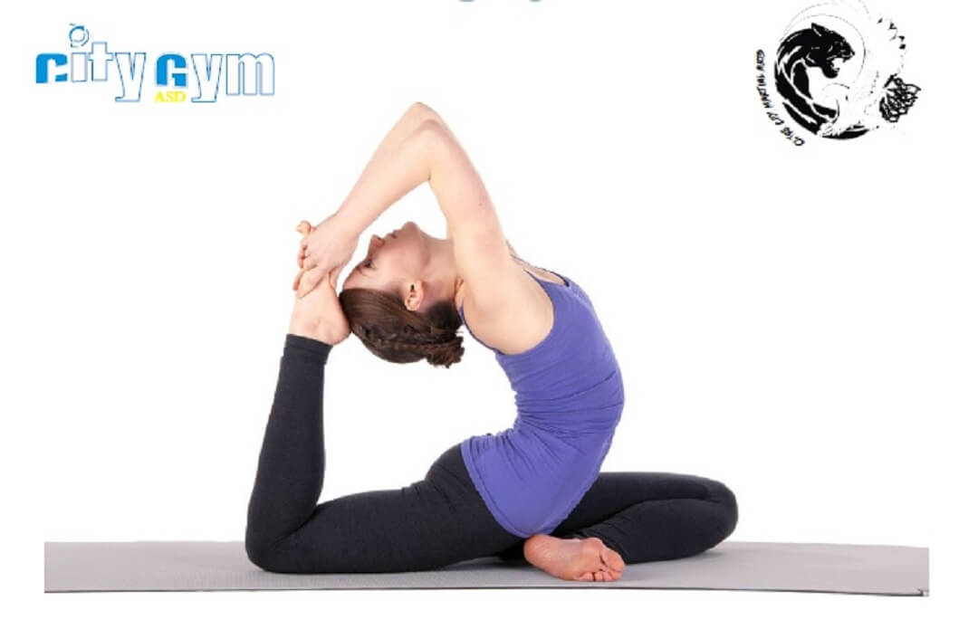 Lo yoga come non lo hai mai provato, solo alla city gym