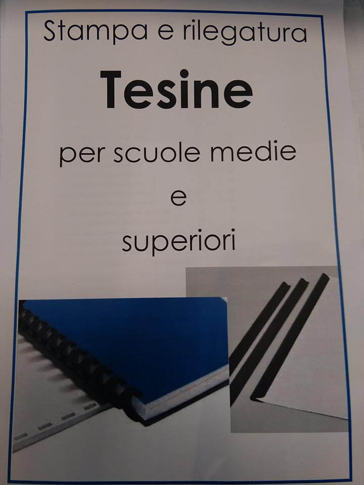 stampa tesine